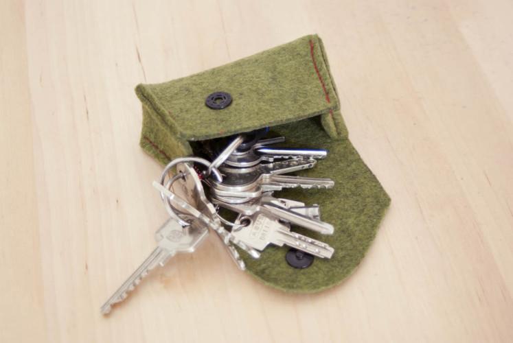 Schlüsseltasche - Tutorial|Freebie