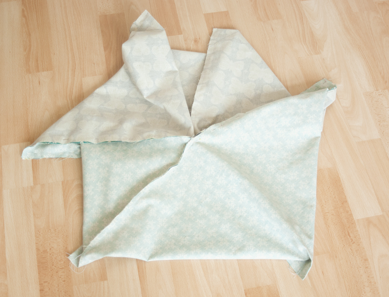 Origami Bag als Wendetasche nähen