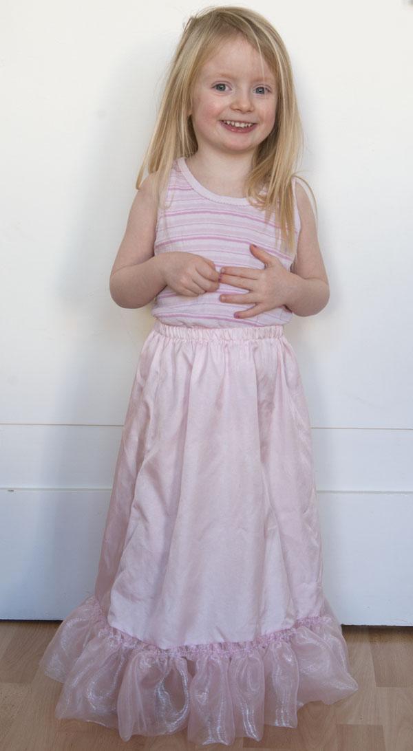 Dornröschen Kostüm Für Kleine Prinzessinnen Marja Katz