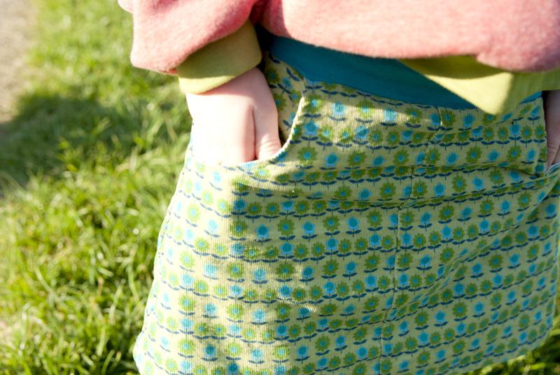 Herbstrock für Mädchen