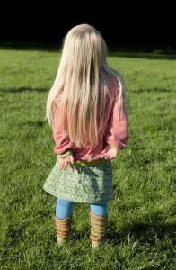 Cordrock für Mädchen nähen - Anleitung