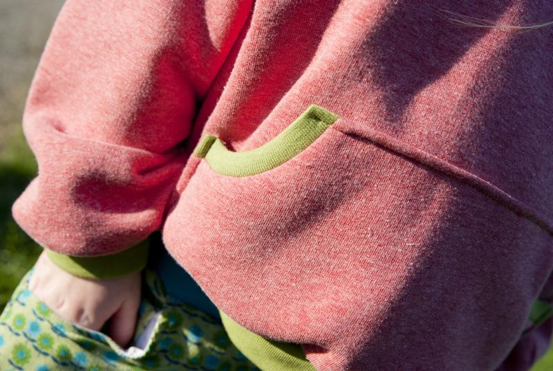 Hoodie für den Herbst - selbstgenäht