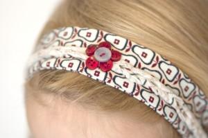 Haarband mit Flechtmuster - Tutorial
