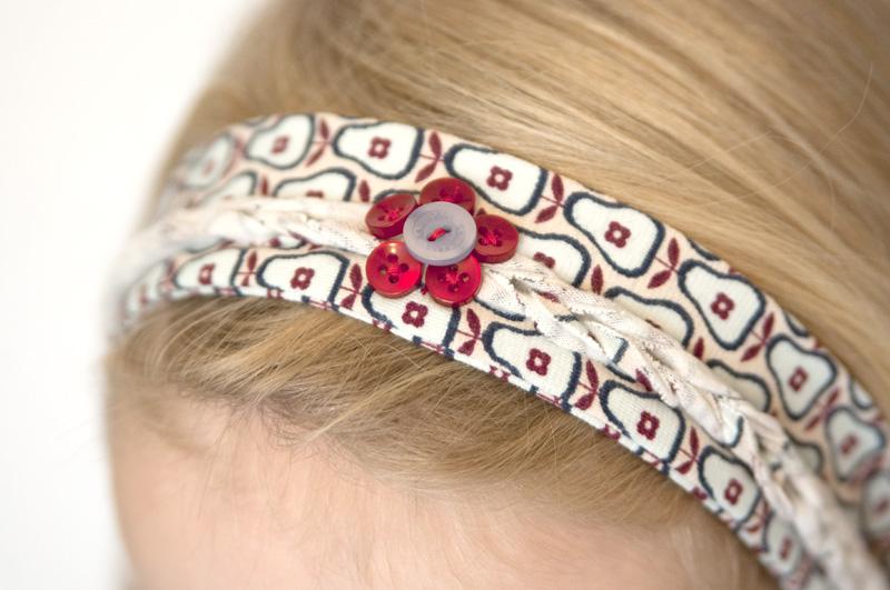Haarband mit Flechtmuster nähen | Tutorial - Nähanleitung