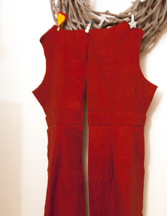 Weihnachtskleid - Ashland Dress Rückseite
