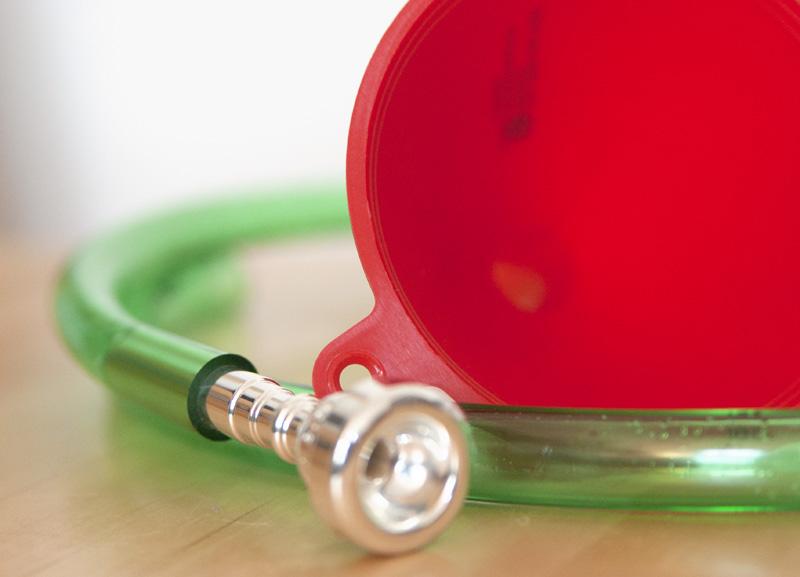 Trompete basteln für Kinder