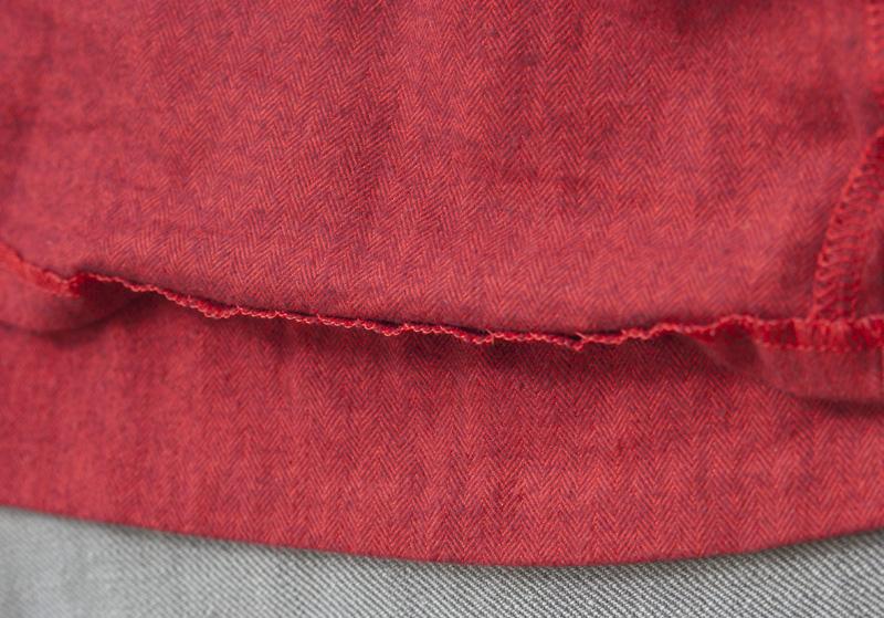 Ashland Dress | Detail Blindsaum