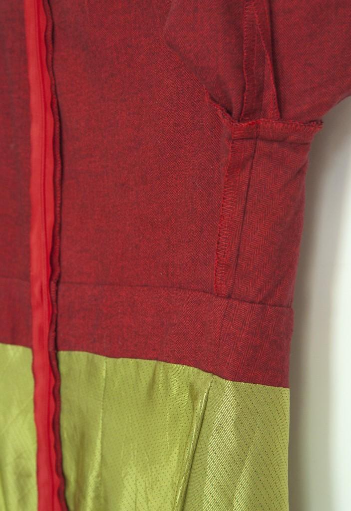 Ashland Dress   Detail Seitennaht