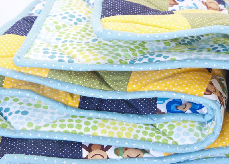 Babydecke - Quilt für Babys