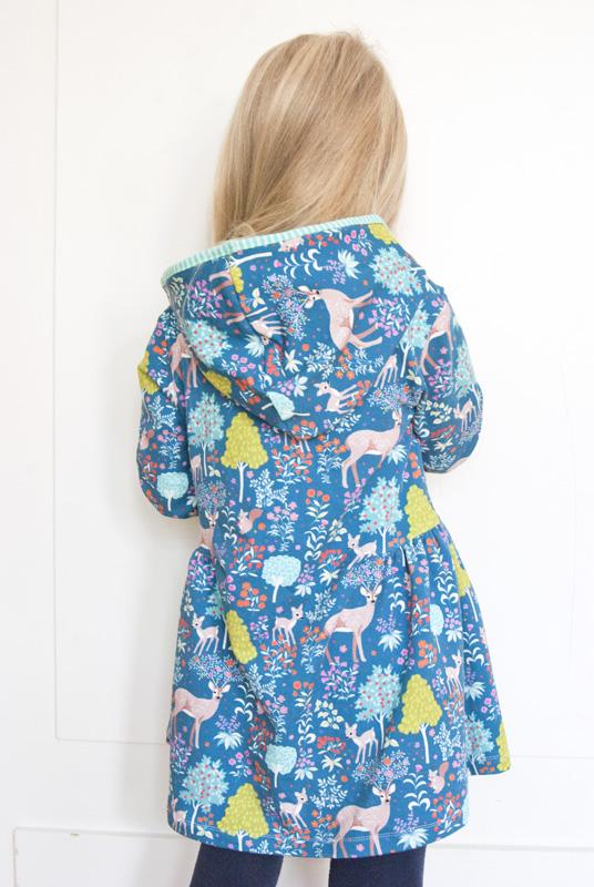 Winterkleid für Mädchen