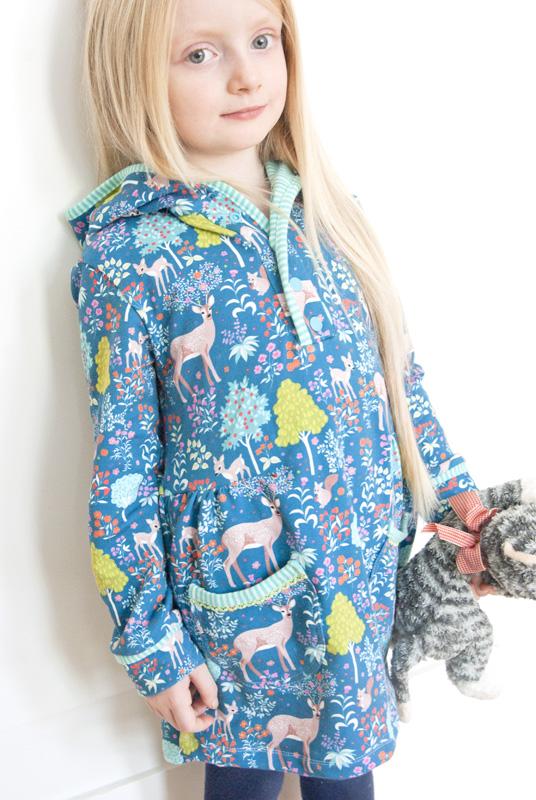 Waldkleid - Winterkleid für Mädchen
