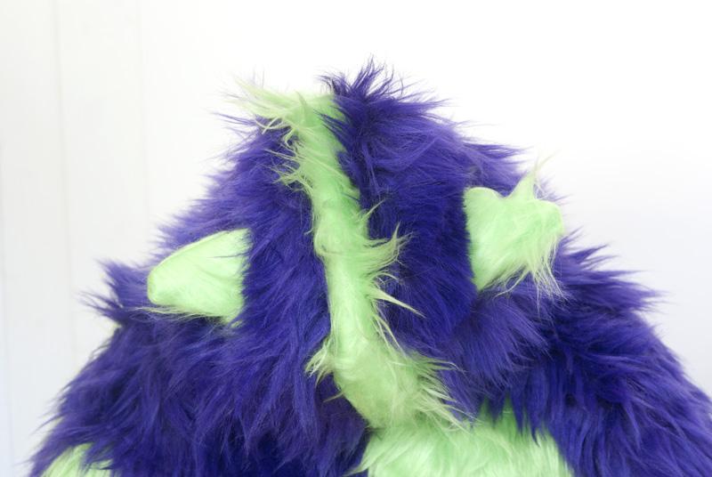 Monsterkostüm nähen - Kapuze mit Ohren