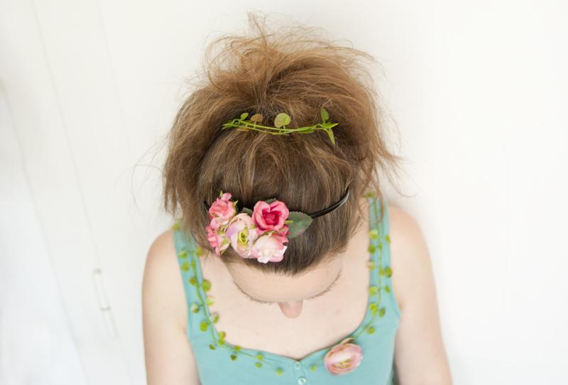 Waldfee-Kostüm - Haarschmuck