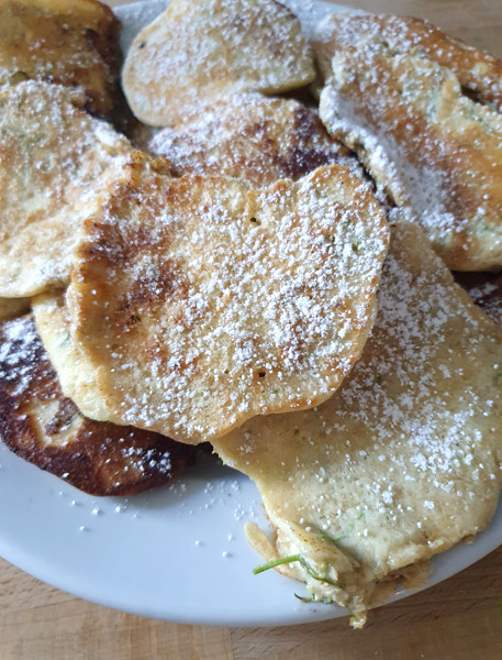 Holunder-Pfannkuchen Rezept